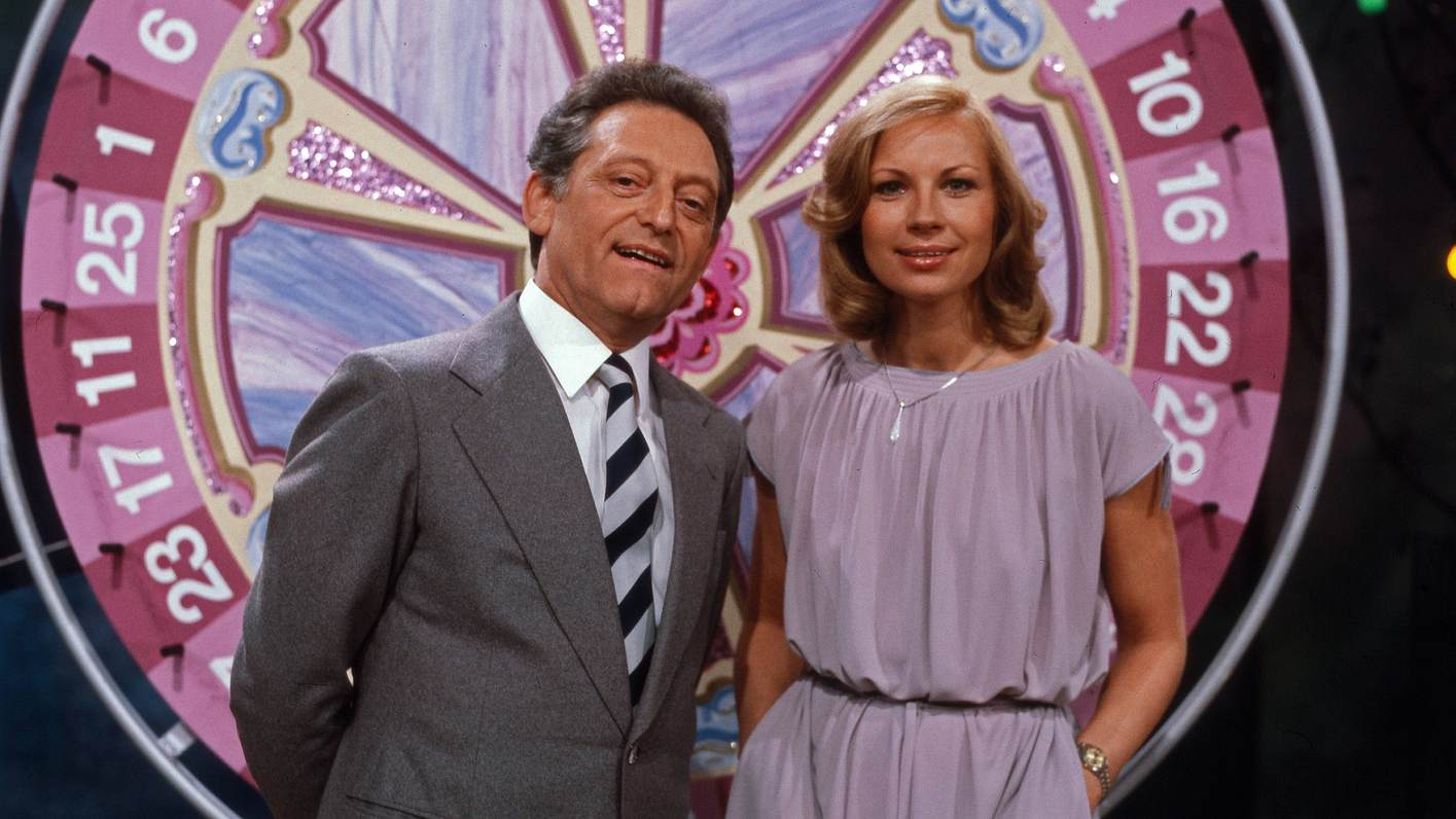 Monika Sundermann und Hans Rosenthal bei Dalli Dalli