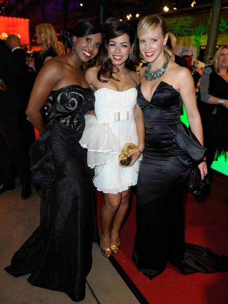 Deutscher Fernsehpreis 2012 - Die HighlightsSchickes Trio: Motsi Mabuse (31), Fernanda Brandao (29) und Isabel Edvardsson (30)