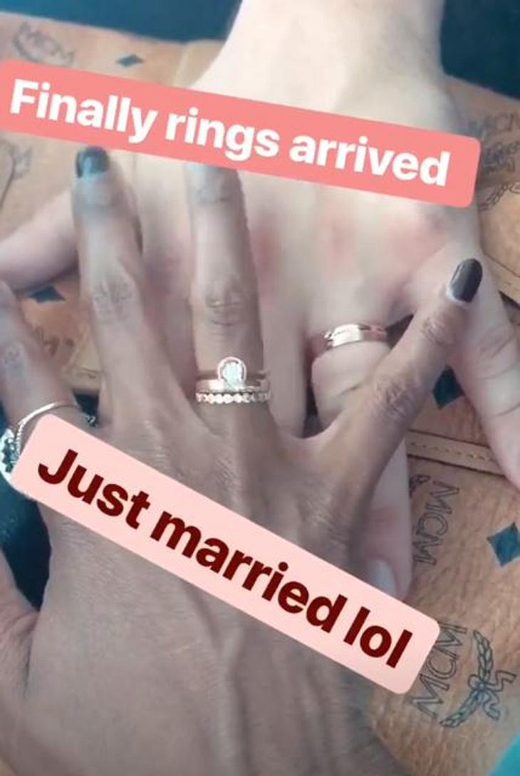 Motsi Mabuse und ihr Mann zeigen endlich ihre Eheringe