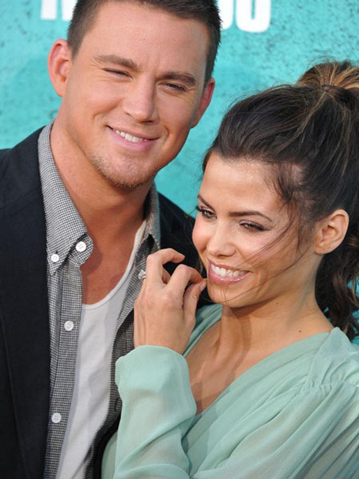 MTV Movie Awards 2012: Die HighlightsDas schönste Paar des Abends waren definitiv Channing Tatum (32) und seine Frau Jenna Dewan (31).
