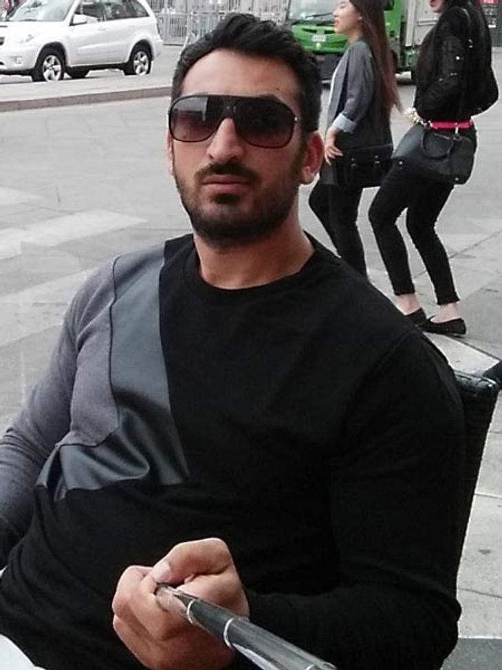 Mustafa Alin ist im Selfie-Fieber