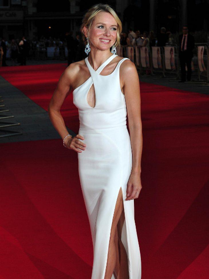 """Naomi Watts feierte die Weltpremiere von """"Diana"""" in London."""