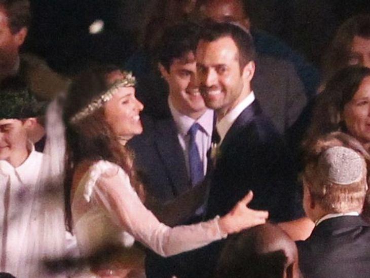 Jahresrückblick 2012 - Die schönsten Momente der StarsEine jüdische Hochzeit im Hippi-Style feierten dagegen Natalie Portman und ihr Benjamin am 4. August 2012. Ungewöhnlich: Es gab ausschließlich veganes Essen.Es läuteten auch auch die Glo