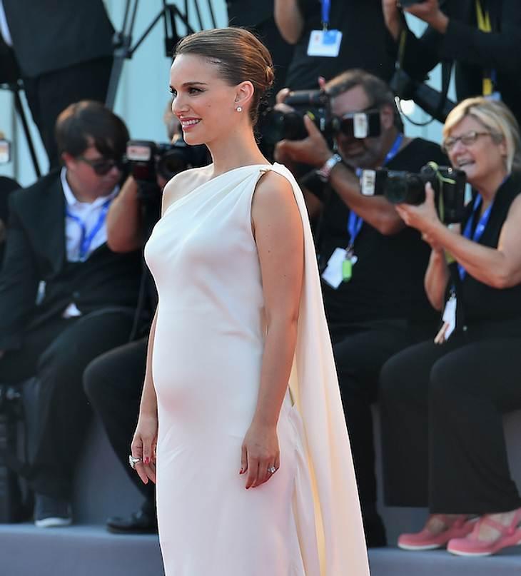 Babybauch! Natalie Portman ist wieder schwanger