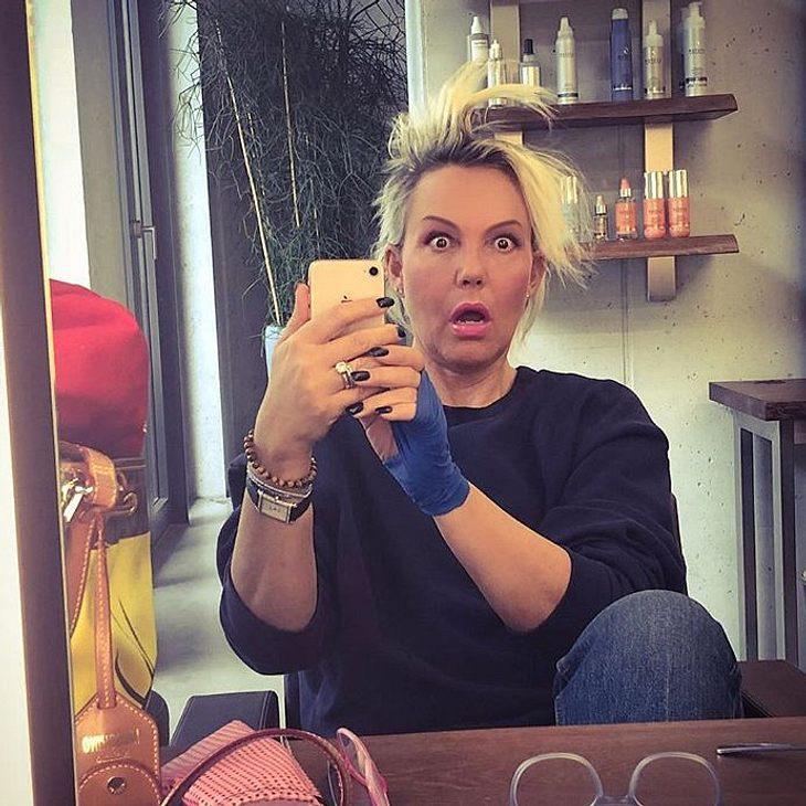 Natascha Ochsenknecht hat sich die Haare abschneiden lassen