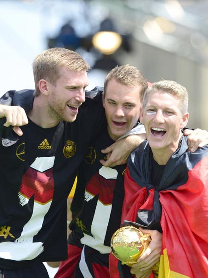 Die WM-Helden dürften sich über eine hübsche Prämie freuen
