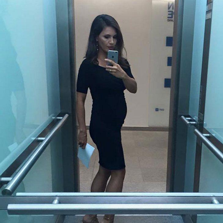 Nazan Eckes zeigt ihren Babybauch