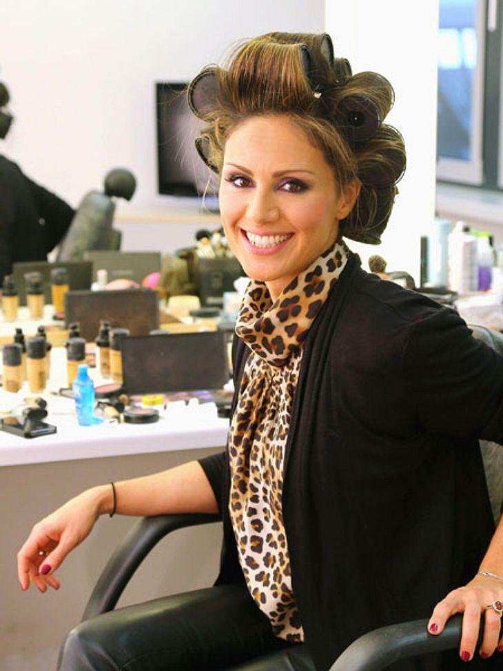 DSDS: Nazan Eckes zeigt ihren Beauty-Bereich!... und schon ist die 36-Jährige für die Sendung fertig. Zumindest was das Make-up angeht.