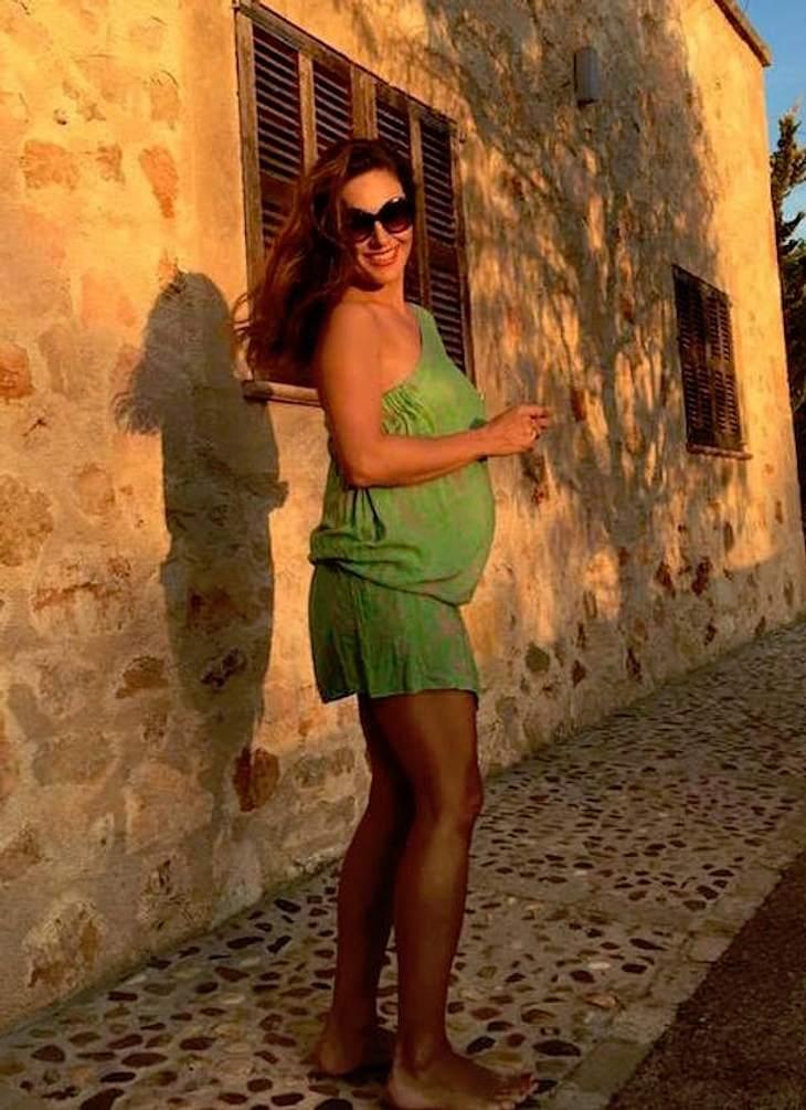 Nazan Eckes: Schwangerschafts-Auszeit auf Mallorca