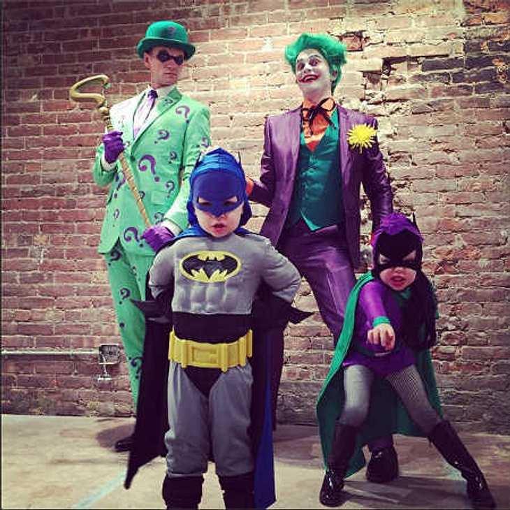Neil Patrick Harris: Süßes Bild seiner Batman-Familie