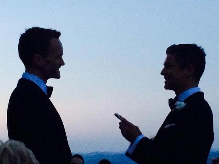 Neil Patrick Harris und David Burtka haben geheiratet