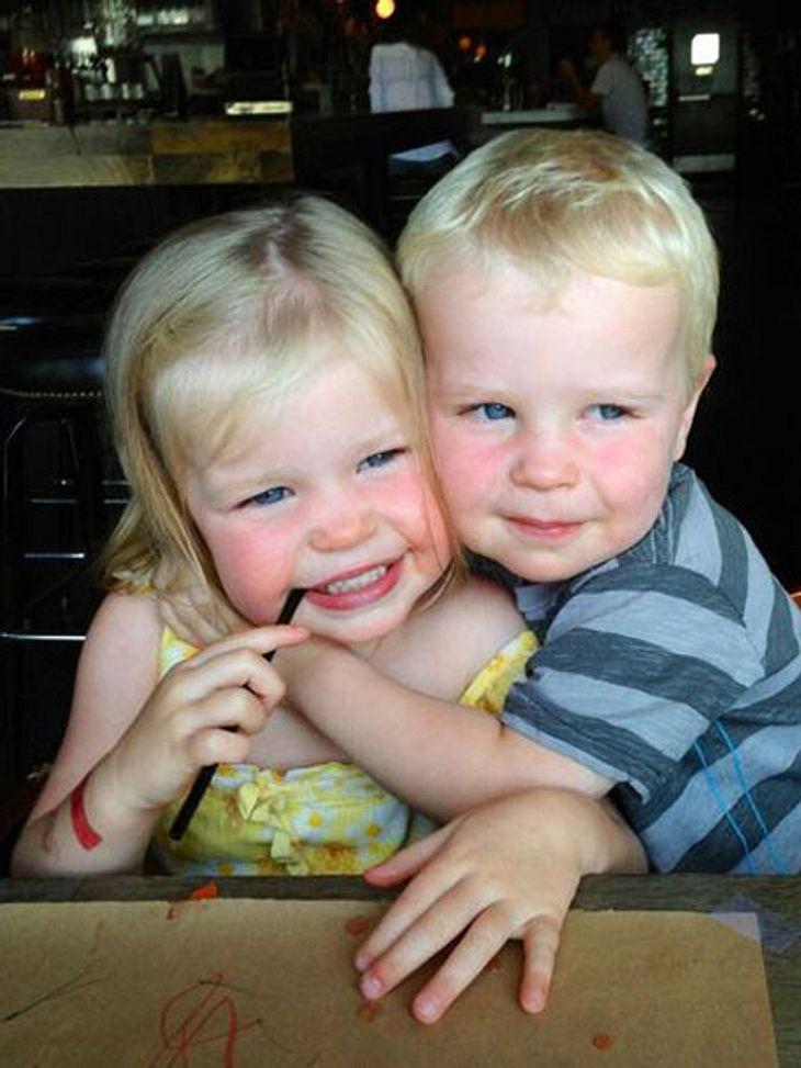 Neil Patrick Harris postete dieses Foto seiner Zwillinge.