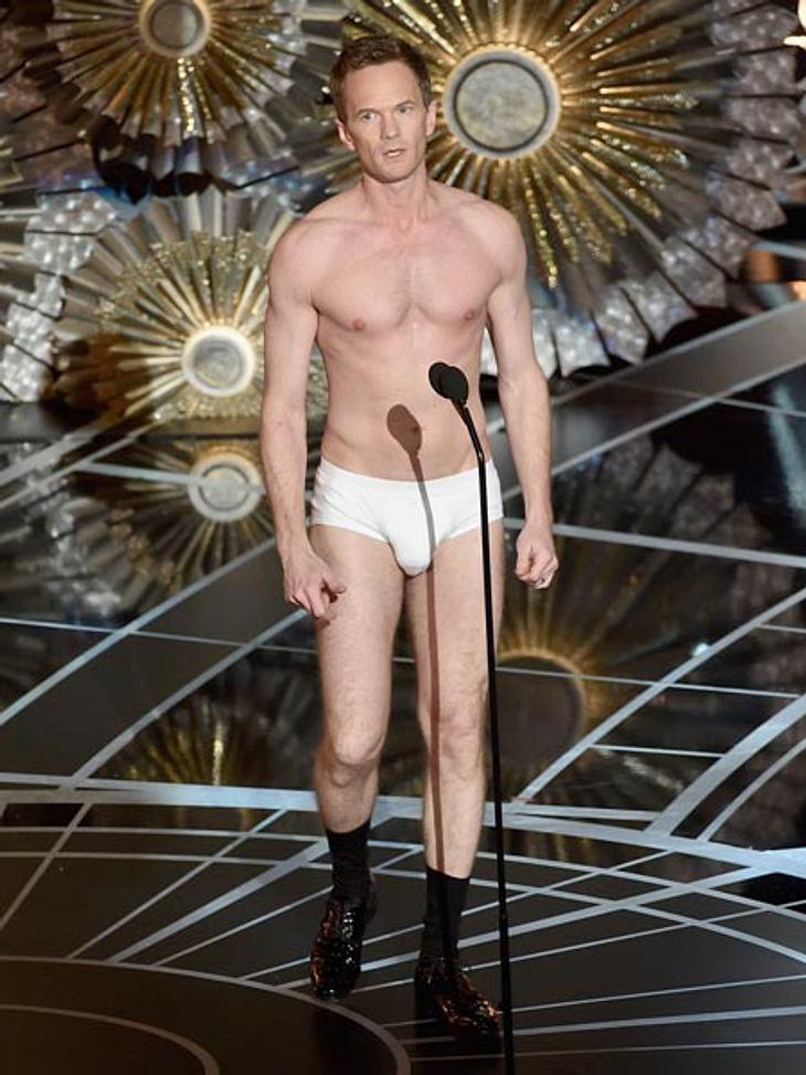 Neil Patrick Harris gibt vollen Körpereinsatz, doch seine Nervosität merkt man ihm einfach an