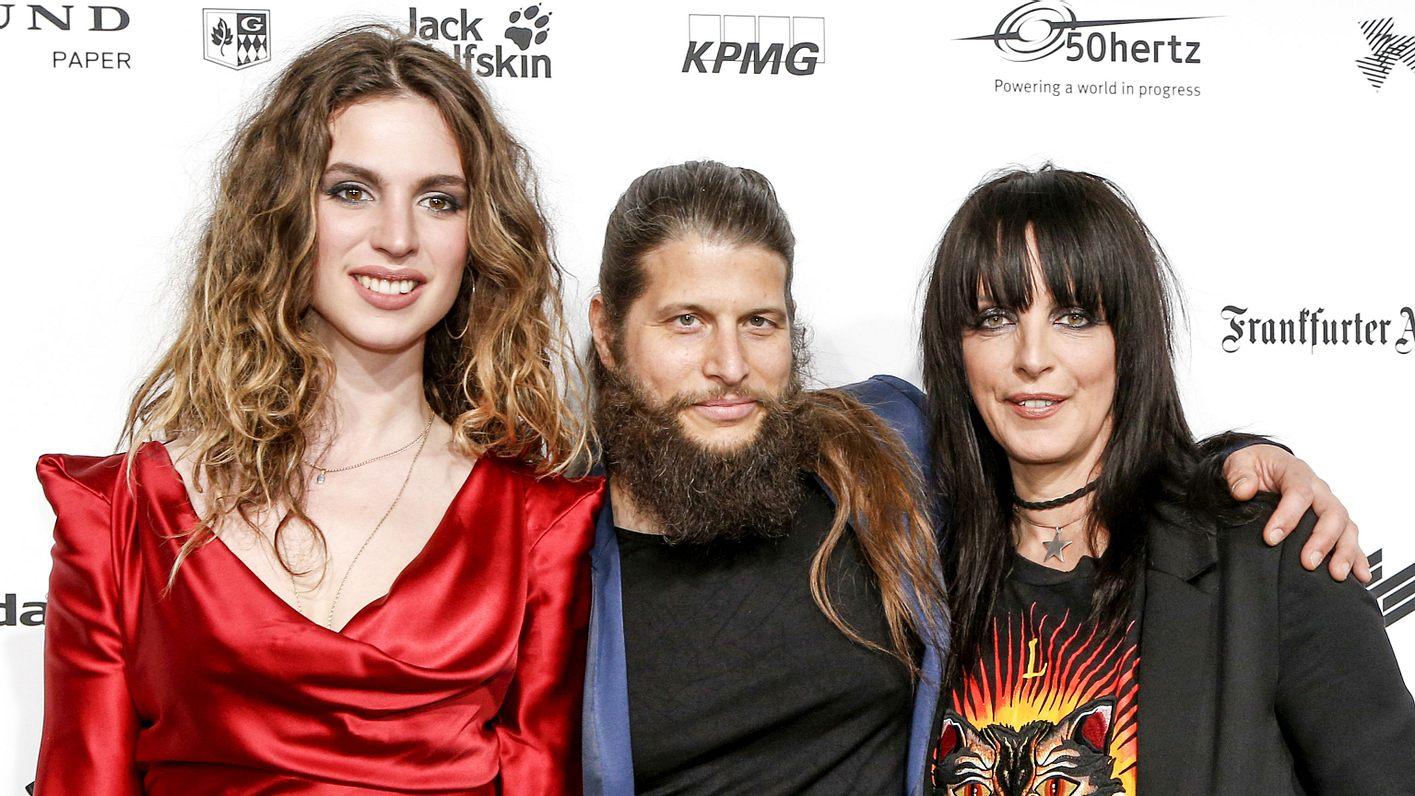 Nena mit Freund Philipp Palm und Tochter Larissa Kerner