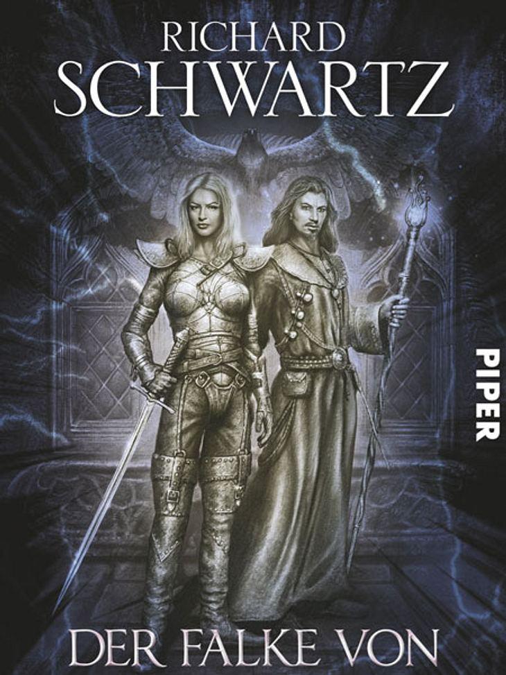 Der Falke von Aryn von Richard SchwartzDarum geht's:Der Fantasy-Roman spielt in der düsteren Stadt Aryn, in der ein schlimmes Verbrechen verübt wurde: Der sagenumwobene Falke, ein mächtiges Artefakt der Göttin Isaeth, wurde gestohlen. Die