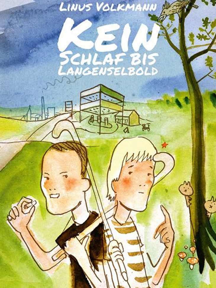 Kein Schlaf bis Langenselbold von Linus VolkmannDarum geht's:Linus Volkmann beschreibt in seinem Roman die Geschichte der Zwillinge Malte und Frederik Borchers, die ungleicher nicht sein könnten. Abiturient Malte müht sich beim Probetraini