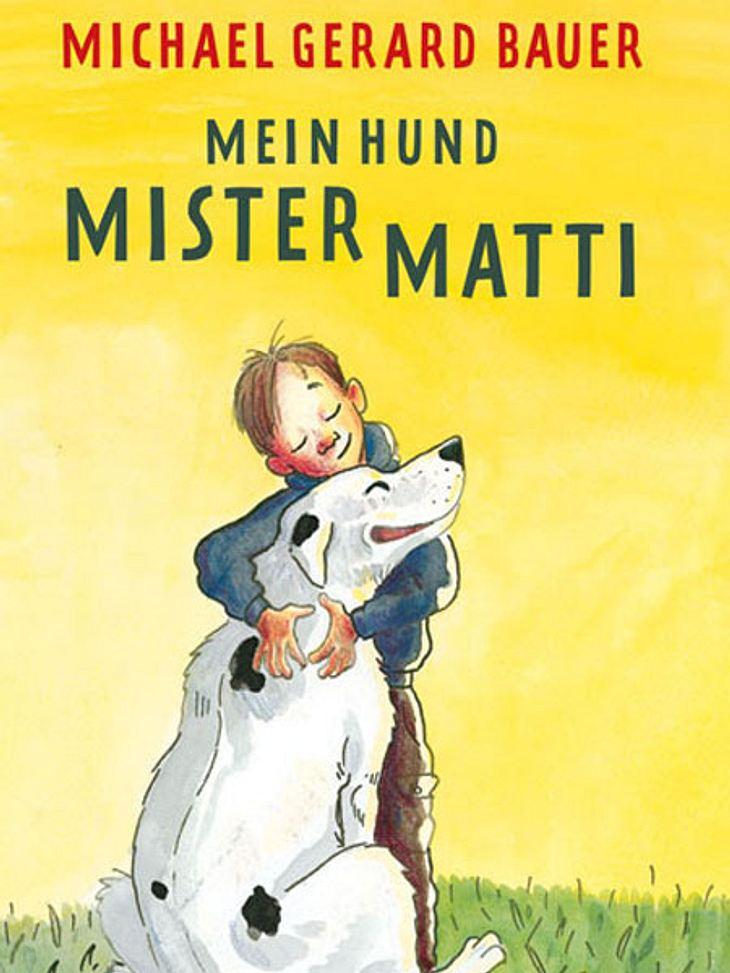 Mein Hund Mister Matti von Michael Gerard BauerDarum geht's:Mister Matti bedeutet seinen Besitzern mehr als ein ganz normaler Hund: Er ist ein Held, der Stofftiere beschützt. Außerdem ist er so gutmütig, sich mit Lametta und Plastikohrring