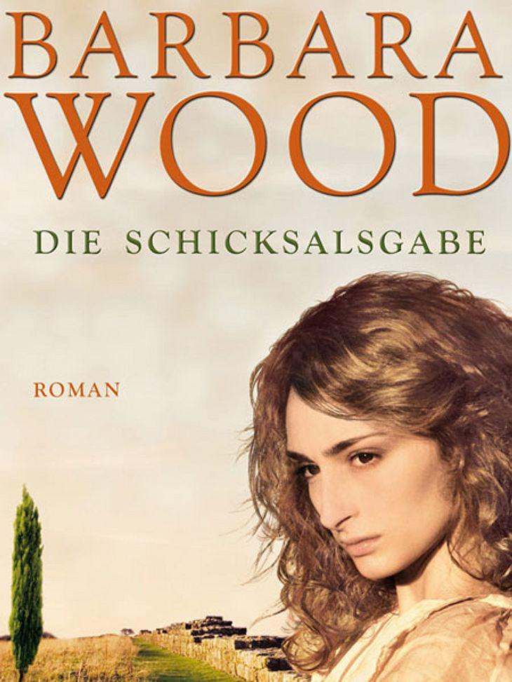 Die Schicksalsgabe von Barbara WoodDarum geht's:Ulrika hat eine geheimnisvolle Gabe: Sie hat Visionen, die sie nach Germanien rufen. Keine ihrer römischen Freundinnen ahnt etwas. In Germanien angekommen, rettet sie der Handelsherr Sebastia