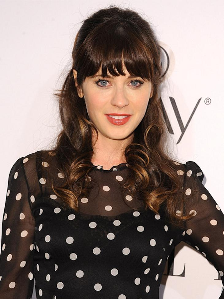 "Zooey Deschanel spielt in ""New Girl"" die Ulknudel Jess."