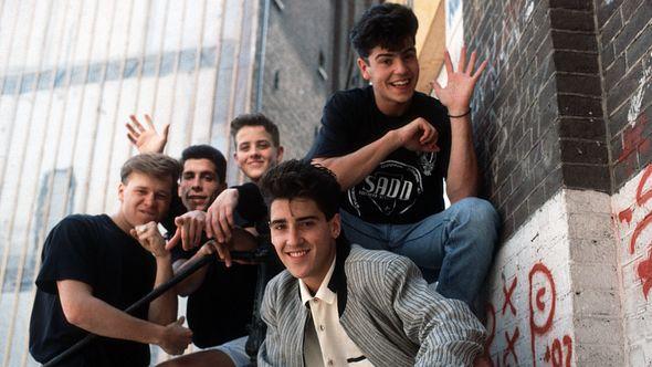 Donnie Wahlberg, Jordan Knight, Joey McIntyre, Jonathan Knight und Danny Wood waren die New Kids on the Block - Foto: Getty Images
