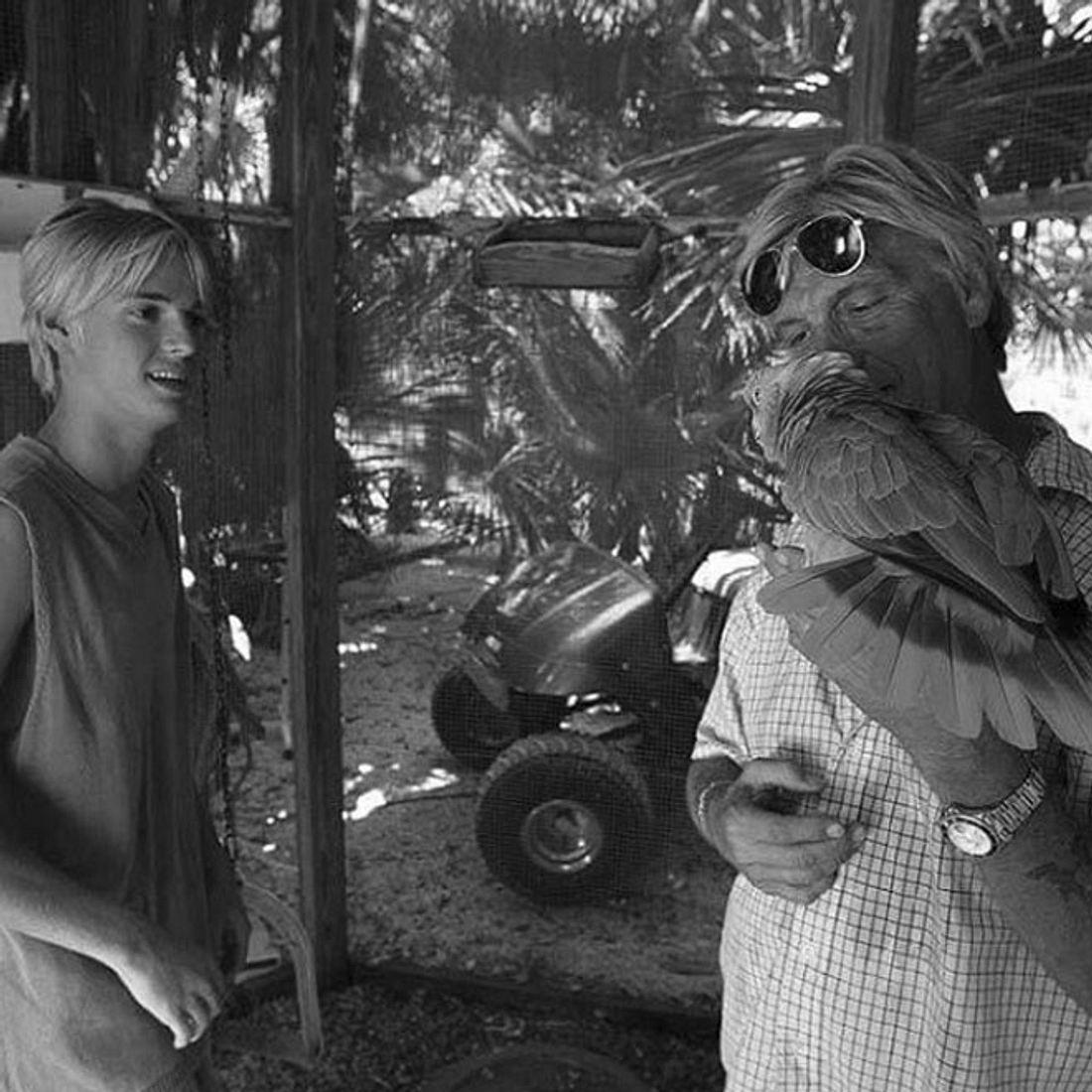 Aaron Carter mit seinem Vater Bob