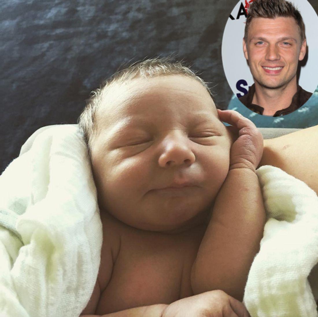 Nick Carter: So süß ist Baby Odin