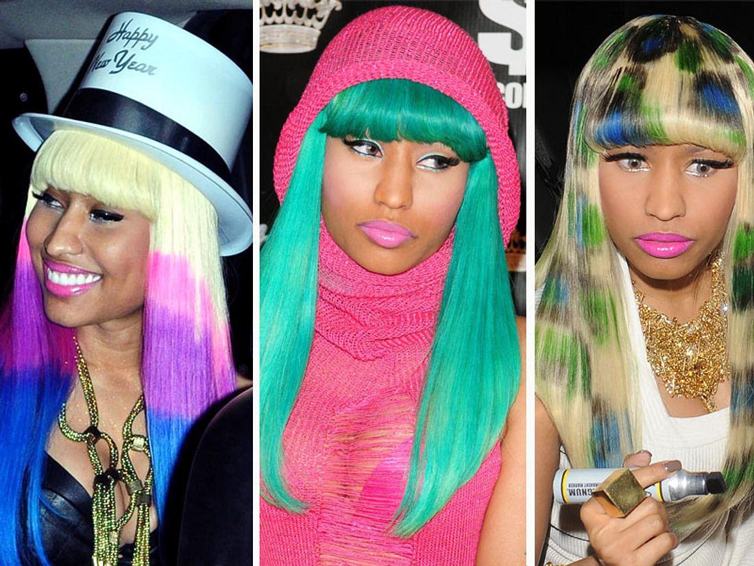 Nicki Minaj: Ihre verrücktesten Haar-Styles - Bild 1