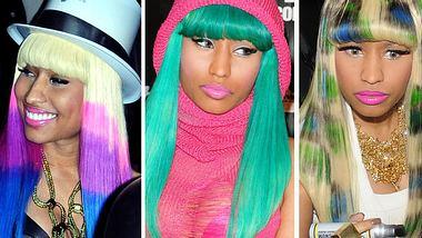 Nicki Minaj: Ihre verrücktesten Haar-Styles - Bild 1 - Foto: WENN