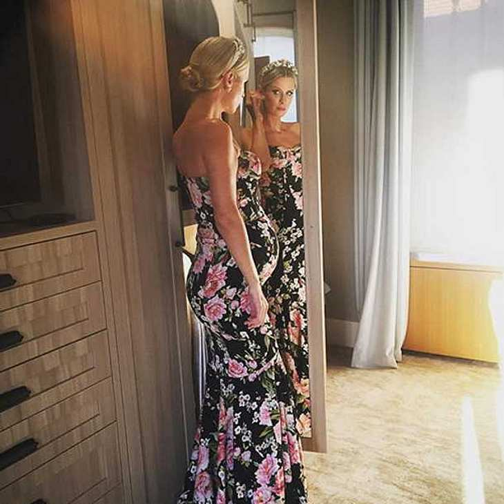 So schön schwanger: Nicky Hilton blüht mit Baby-Bauch auf!