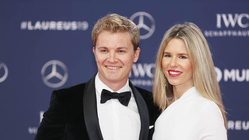 Nico Rosberg und Frau Vivian Sibold - Foto: Imago