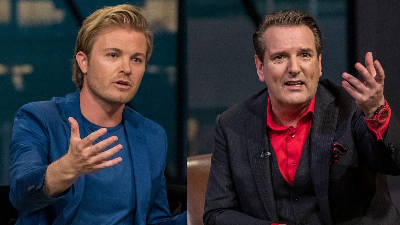 Nico Rosberg und Ralf Dümmel