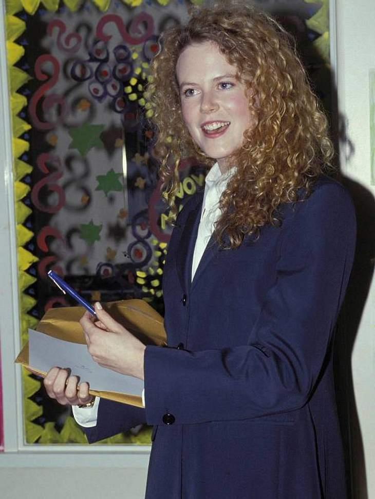 Botox-Opfer hin oder her - vor 19 Jahren war  Nicole Kidman zwar eine sehr natürliche Frau, besonders stilsicher und sexy war sie jedoch nicht.