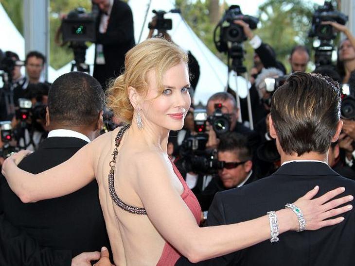 """Cannes 2012 Nicole Kidman (44) stellte ihren neuen Film """"The Paperboy"""" vor. Und posierte für wirklich jeden Fotografen, auch für die, die hinter ihr standen."""