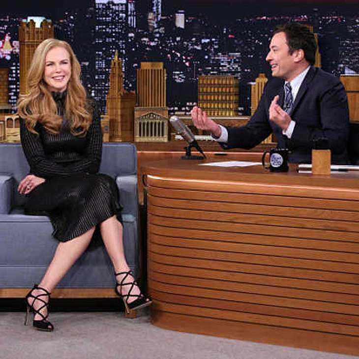 Nicole Kidman gesteht Jimmy Fallon ihr einstiges Interesse an ihm