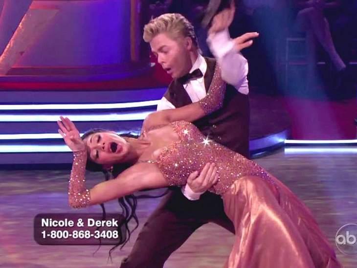 Dancing with the Stars: Dieses Promis rocken  Nicole Scherzinger war aber auch immer 100 Prozent voll dabei. Ihr schauspielerisches Talent konnte sie in der Show gleich mit verkaufen.