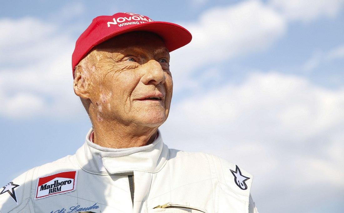 Niki Lauda ist im Krankenhaus