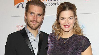 Nina Bott und Mann Benjamin - Foto: Getty Images