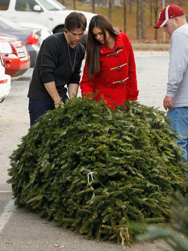 Ho Ho Ho - Stars im WeihnachtsfieberUnd tada... Nina und Ian konnten sich doch noch auf einen - rieisigen - Weihnachtsbaum einigen. The End.