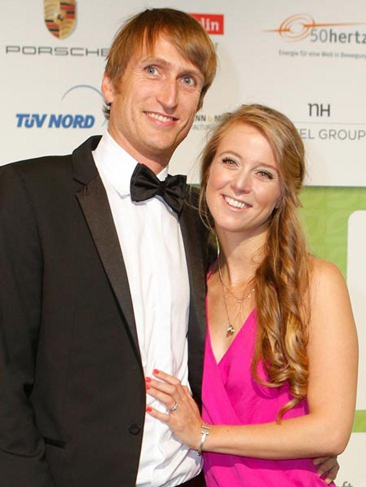 Hat sich Nina Eichinger mit ihrem Freund Fritz verlobt?