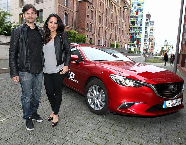 Nina Moghaddam mit Ehemann Dominik