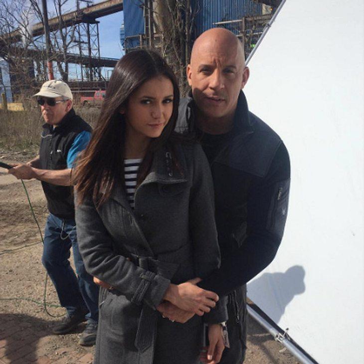 Nina Dobrev findet Vin Diesel bewundernswert