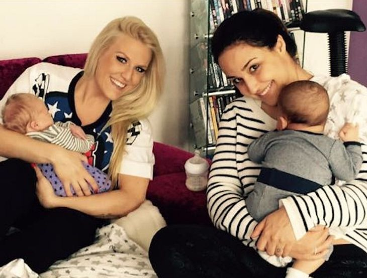 Nina Moghaddam: Süßer Baby-Treff mit Cascada-Sängerin Natalie Horler