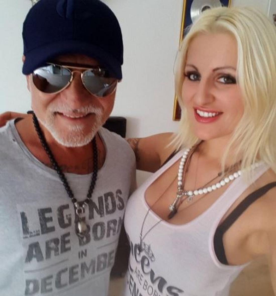 Nino de Angelo und seine neue Freundin Jenny van Bree