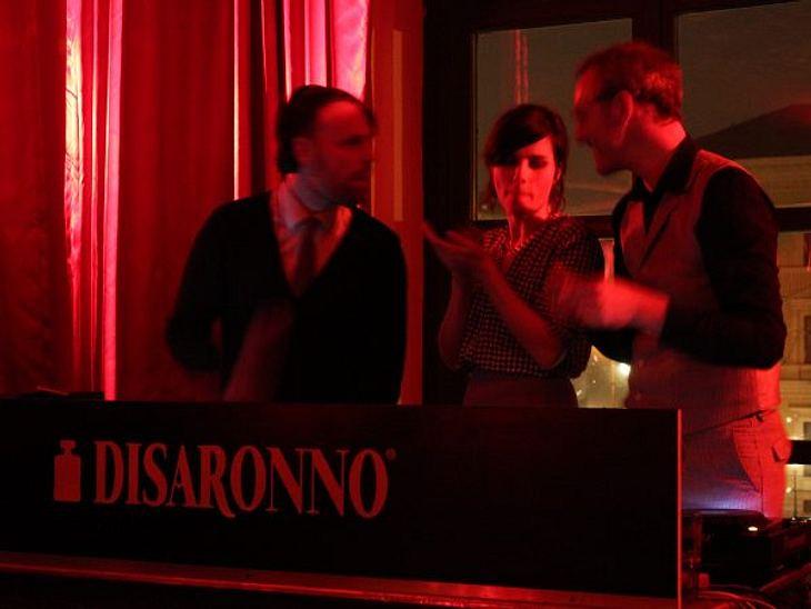 """Nora Tschirner und """"Prag"""" bei """"It's a swing thing"""" in München"""