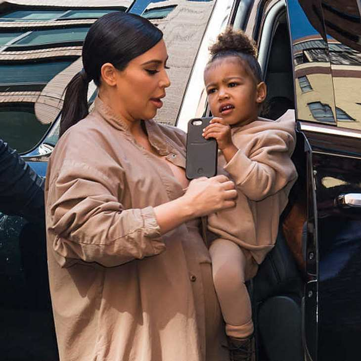 Kim Kardashian North West Twitter