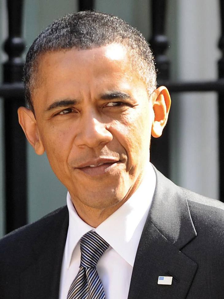 Obama besucht die Opferfamilien.