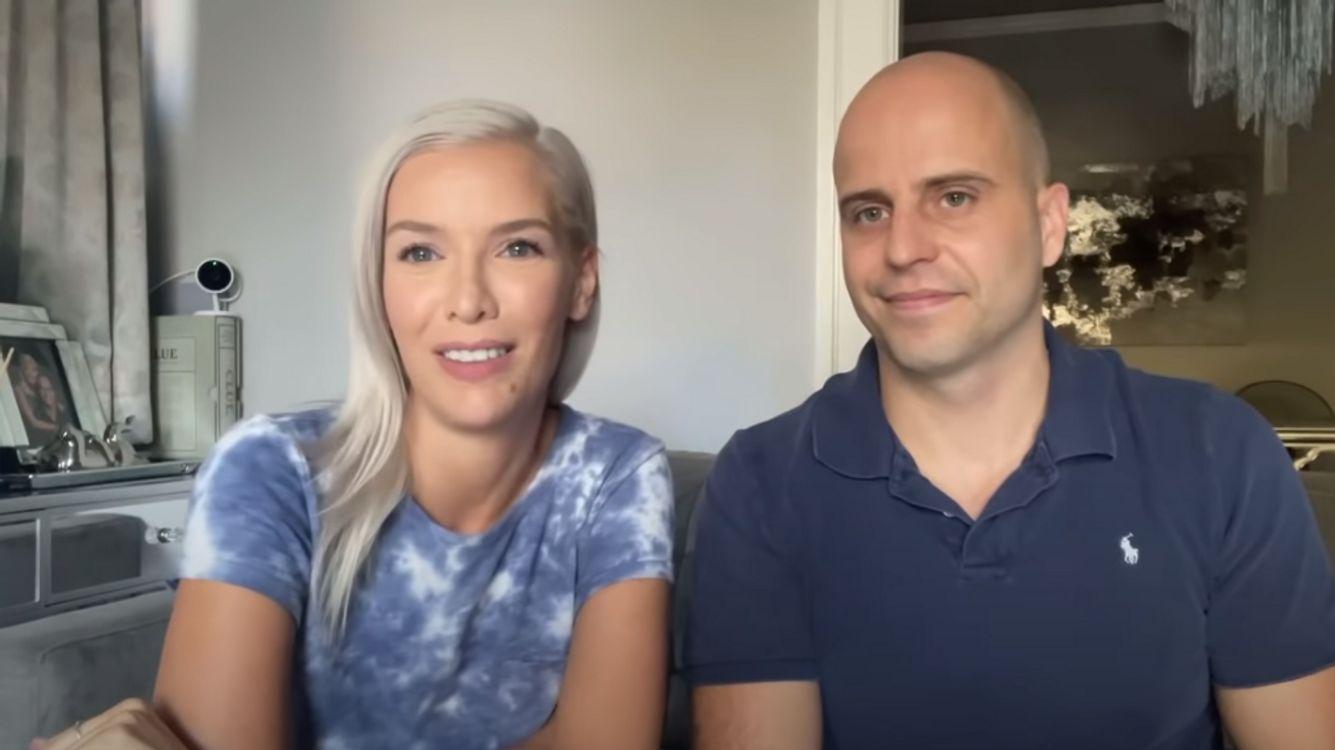 Oksana Kolenitchenko und ihr Mann Daniel