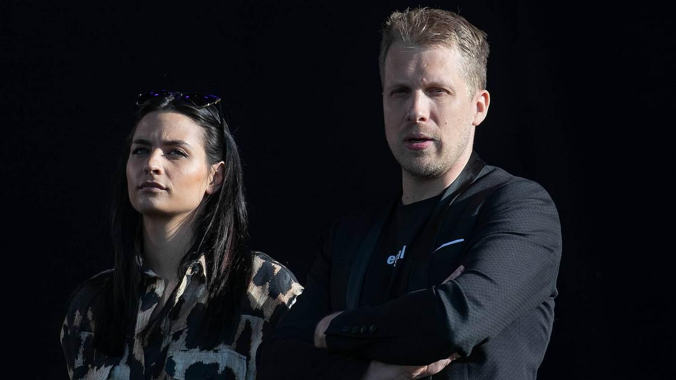 Amira und Oliver Pocher