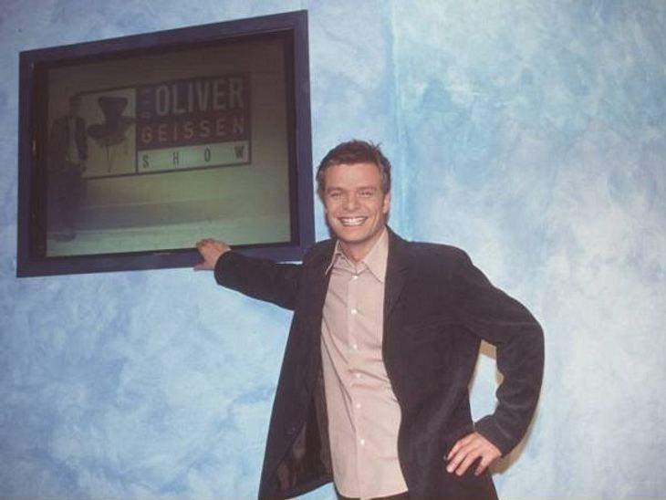 """Die Talkshow-Moderatoren der 90er""""Die Oliver Geissen Show"""" wurde als vorletzte Talkshow 2009 nach zehn Jahren abgesetzt. Zu diesem Zeitpunkt wollte kaum noch jemand, den teils nachgestellten Talk sehen. Doch Oliver Geissen blieb R"""