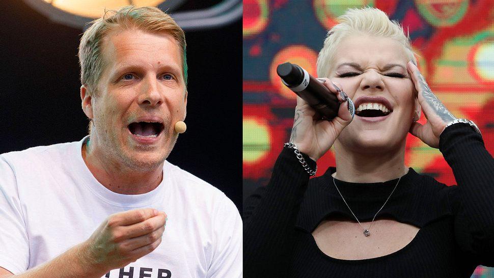 Oliver Pocher und Melanie Müller - Foto: IMAGO/ Future Image/ Karina Hessland (Collage)
